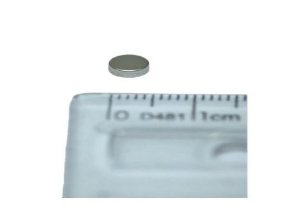 Ímã Neodímio N35 Pastilha 5x1,5 mm