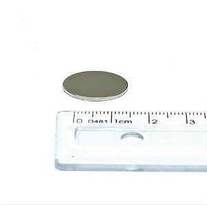 Ímã Neodímio N35 Pastilha 18x1,5 mm