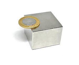Ímã Neodímio N42 Bloco 40x40x30 mm