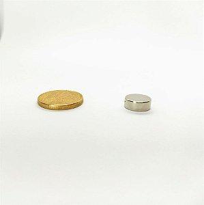 Ímã Neodímio N35 Pastilha 10x4 mm