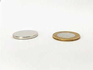 Ímã Neodímio N35 Pastilha 24,5x2,5 mm