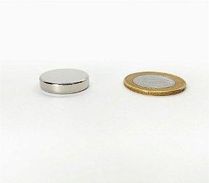 Ímã Neodímio N35 Pastilha 22x5 mm