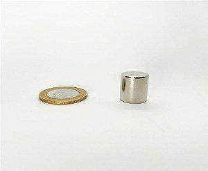 Ímã Neodímio N35 Cilindro 14x14 mm