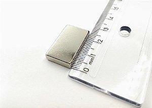 Ímã Neodímio N35 Bloco 25x15x5 mm