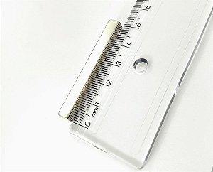 Ímã Neodímio N35 Bloco 50x6x6 mm