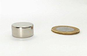 Ímã Neodímio N42 Pastilha 20x10mm