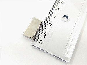 Ímã Neodímio N35 Bloco 20X10X5,6 mm