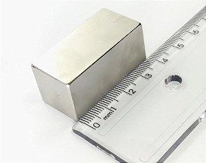 Ímã Neodímio N52 Bloco 40X20X20 mm