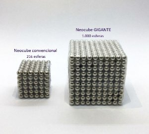 Cubo Magnético Gigante 1000 Esferas 5mm Bucky Balls Neocube