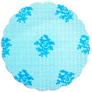 Tapetinhos Fundo para doces Rendado Azul Claro - 100Un