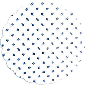 Fundo doces tapetinho Asterisco Azul Escuro - 100Un