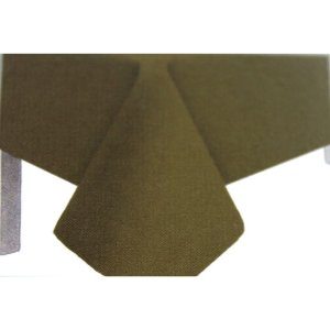 Toalha de Mesa Plástico Lisa Ouro - 10 unidades - Medidas Variadas