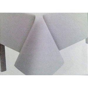 Toalha de Mesa Plástico Lisa Branco - 10 unidades - Medidas Variadas