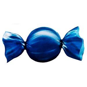 Embalagem para Trufas e Bombons 15x16cm Lisa Azul Escuro