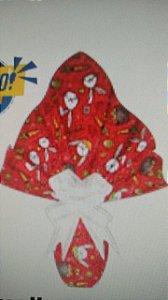 Embalagem Ovo de Páscoa 24x24 Bonanza Vermelho - Ovos 100g a 150g - 25 un