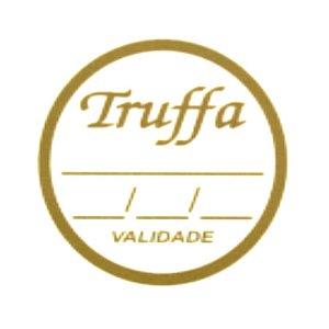 Etiqueta Adesiva Trufa Sabor e Validade - 100 un