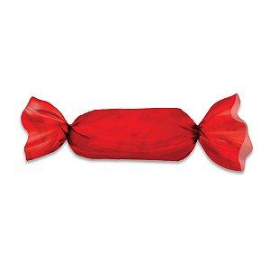 Embalagem para Trufas e Bombons 20x18 Vermelho