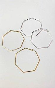 Argola Hexagonal
