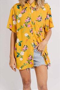 Camisa Yellow Garden