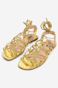 Rasteira Siena Gold