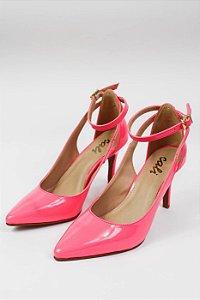 Scarpin Rosa Neon