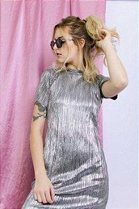 Vestido Metalic
