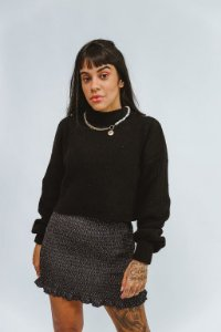 Cropped Tricot Mona