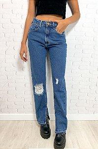 Calça Jeans Barra Escura