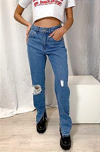 Calça Jeans Barra Clara