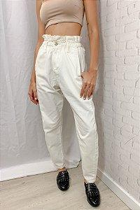 Calça Jeans Clochard Off White