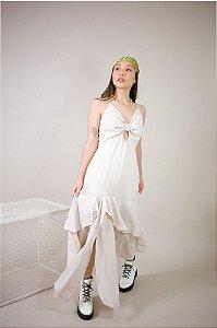 Vestido Midi Victoria Nude