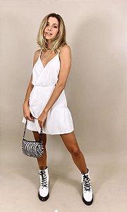 Vestido Curto Clara Branco