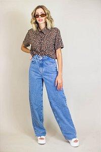 Calça Pantalona Reta New