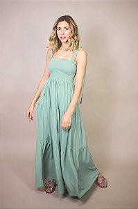 Vestido Lastex Verde