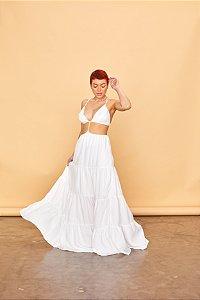 Vestido Longo Open Branco