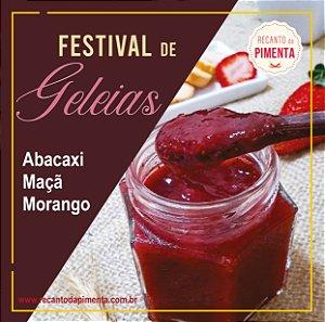 Festival de Geleias - 2 Geleias 220 gr