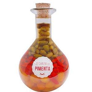 Conserva de Pimenta Gourmet - Vidro Químico 480gr Pimenta Cumari, Cumari do Pará e Malagueta