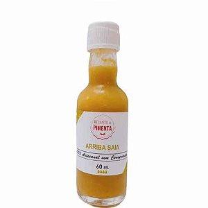 Molho de Pimenta Arriba Saia - Produto gourmet e sem conservantes