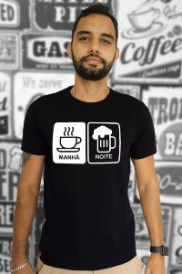 Café & Breja (T-Shirt Unissex)