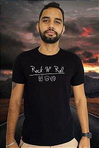Rock N' Roll (T-Shirt Unissex)
