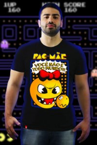 Pac-Mãe (T-Shirt Unissex)