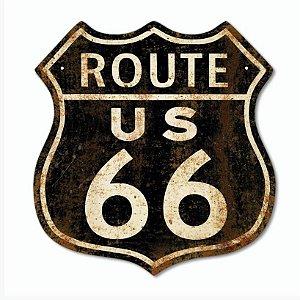 Placas decorativas Route 66