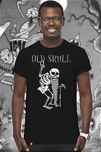 Old Skull (T-shirt Unissex)