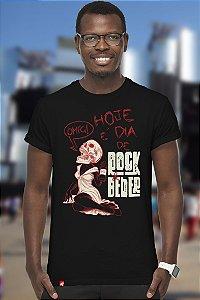 Dia de Rock e Beber (T-shirt Unissex)