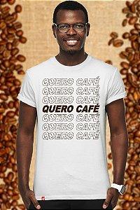 Quero Café (T-shirt Unissex)