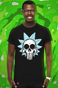 Rick Skull (T-Shirt Unissex)