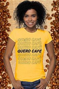 Quero Café (Baby Look)