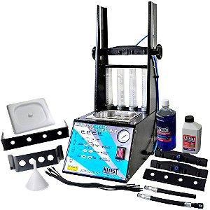 Máquina de limpeza e teste de injetores / injeção direta