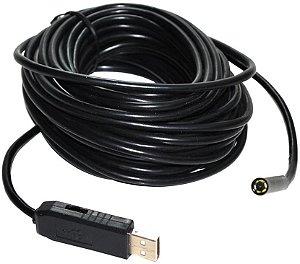Endoscopio USB 2 metros 7mm diametro