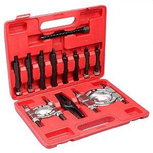 Extrator de rolamentos Alternador/Cambio Kit com 12 pecas